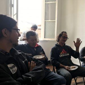 Damian Lo, Juan Parra, Juan Carlos Salinas